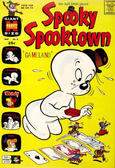 Cover for Spooky Spooktown (Harvey, 1961 series) #4