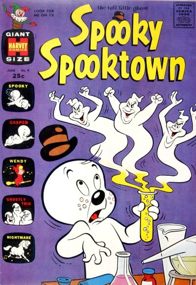 Cover for Spooky Spooktown (Harvey, 1961 series) #9