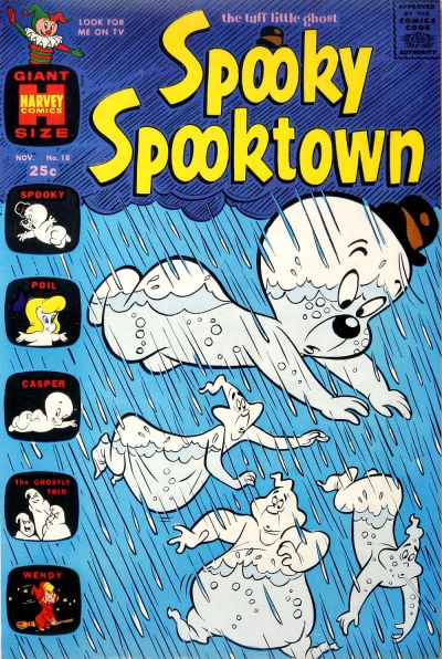 Cover for Spooky Spooktown (Harvey, 1961 series) #18
