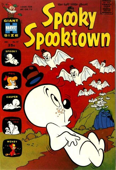 Cover for Spooky Spooktown (Harvey, 1961 series) #27