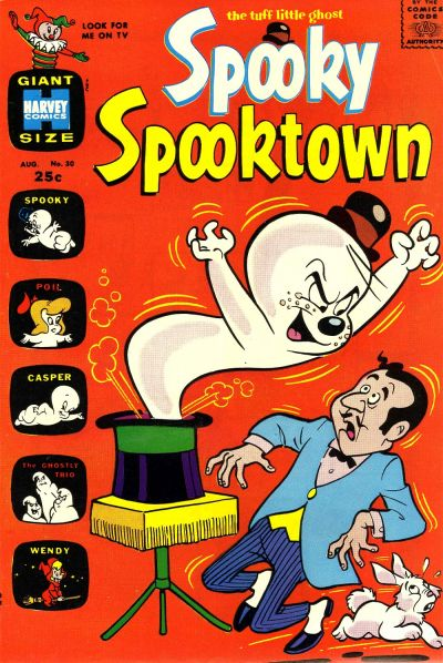 Cover for Spooky Spooktown (1961 series) #30