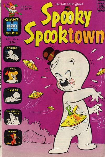 Cover for Spooky Spooktown (Harvey, 1961 series) #41