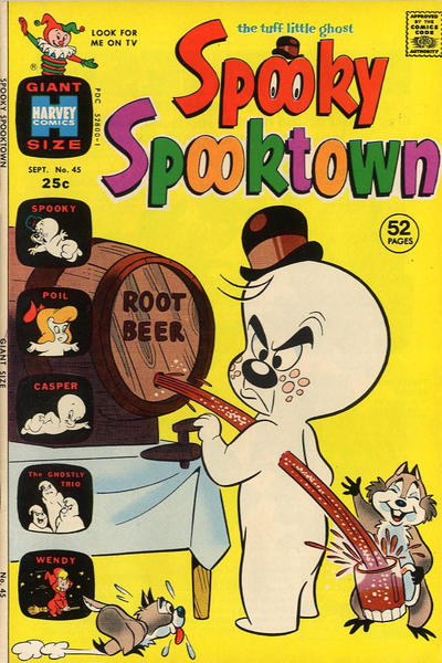 Cover for Spooky Spooktown (Harvey, 1961 series) #45