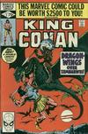 Cover for King Conan (Marvel, 1980 series) #3 [Direct Edition]