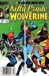 Cover Thumbnail for Kitty Pryde and Wolverine (1984 series) #6 [Newsstand Edition]