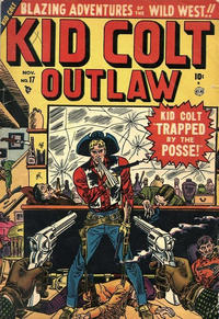 Cover Thumbnail for Kid Colt Outlaw (Marvel, 1949 series) #17