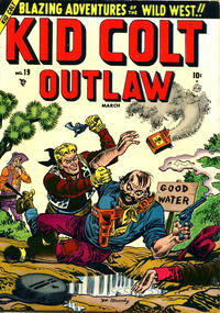 Cover Thumbnail for Kid Colt Outlaw (Marvel, 1949 series) #19