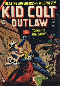 Cover Thumbnail for Kid Colt Outlaw (Marvel, 1949 series) #25