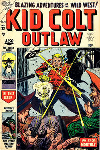 Cover Thumbnail for Kid Colt Outlaw (Marvel, 1949 series) #33
