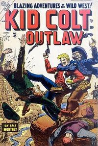 Cover Thumbnail for Kid Colt Outlaw (Marvel, 1949 series) #35