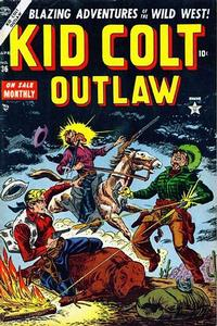 Cover Thumbnail for Kid Colt Outlaw (Marvel, 1949 series) #36