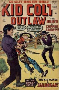 Cover Thumbnail for Kid Colt Outlaw (Marvel, 1949 series) #81
