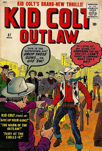 Cover Thumbnail for Kid Colt Outlaw (Marvel, 1949 series) #87