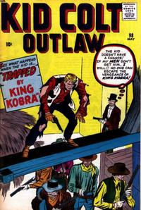 Cover Thumbnail for Kid Colt Outlaw (Marvel, 1949 series) #98