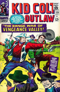 Cover Thumbnail for Kid Colt Outlaw (Marvel, 1949 series) #129