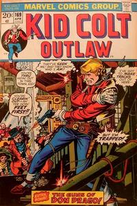 Cover Thumbnail for Kid Colt Outlaw (Marvel, 1949 series) #169
