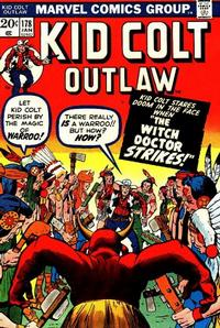 Cover Thumbnail for Kid Colt Outlaw (Marvel, 1949 series) #178