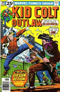 Cover Thumbnail for Kid Colt Outlaw (Marvel, 1949 series) #209