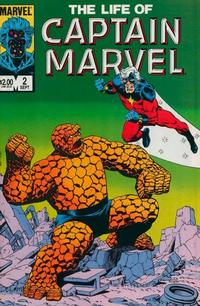 Cover Thumbnail for The Life of Captain Marvel (Marvel, 1985 series) #2