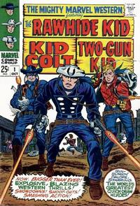 Cover Thumbnail for The Mighty Marvel Western (Marvel, 1968 series) #1