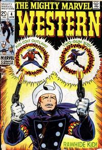 Cover Thumbnail for The Mighty Marvel Western (Marvel, 1968 series) #4