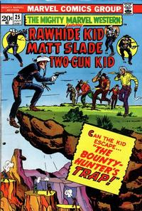 Cover Thumbnail for The Mighty Marvel Western (Marvel, 1968 series) #25