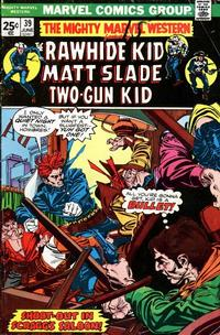 Cover Thumbnail for The Mighty Marvel Western (Marvel, 1968 series) #39