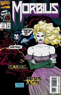 Cover Thumbnail for Morbius: The Living Vampire (Marvel, 1992 series) #13