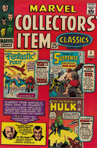 Cover Thumbnail for Marvel Collectors' Item Classics (Marvel, 1965 series) #3
