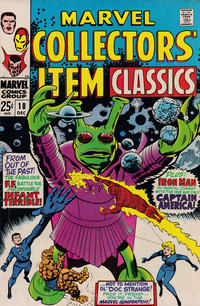 Cover Thumbnail for Marvel Collectors&#39; Item Classics (Marvel, 1965 series) #18