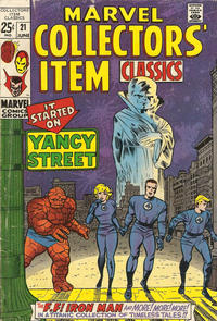 Cover Thumbnail for Marvel Collectors' Item Classics (Marvel, 1965 series) #21