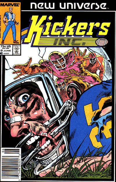 Cover for Kickers, Inc. (Marvel, 1986 series) #8 [Direct Edition]