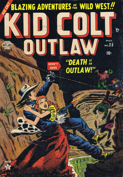 Cover for Kid Colt Outlaw (Marvel, 1949 series) #25