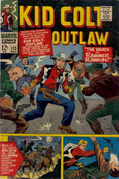 Cover for Kid Colt Outlaw (1949 series) #133