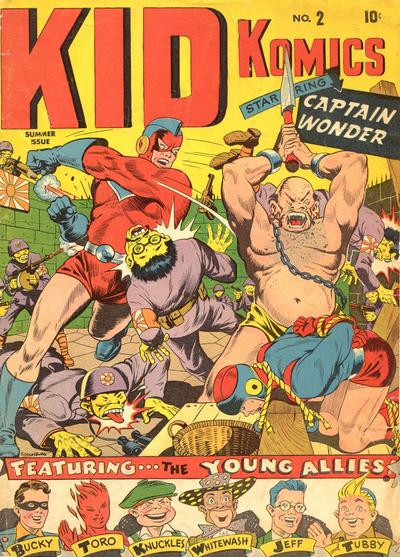 Cover for Kid Komics (Marvel, 1943 series) #2