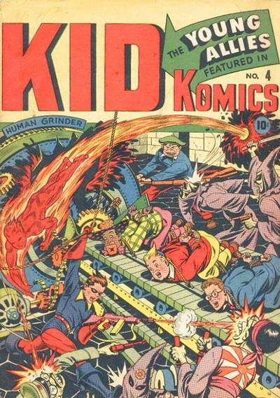 Cover for Kid Komics (Marvel, 1943 series) #4