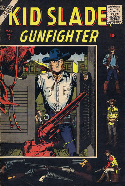 Cover for Kid Slade, Gunfighter (Marvel, 1957 series) #6