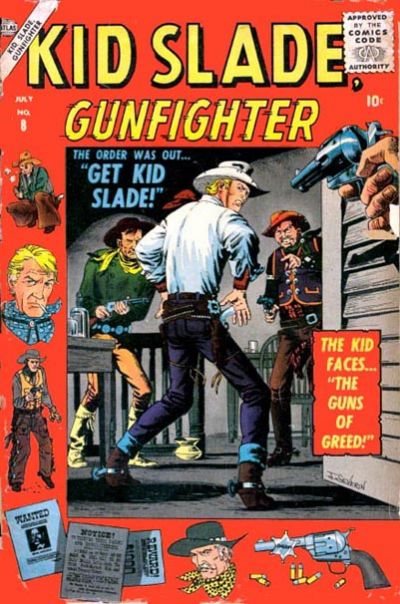 Cover for Kid Slade, Gunfighter (Marvel, 1957 series) #8
