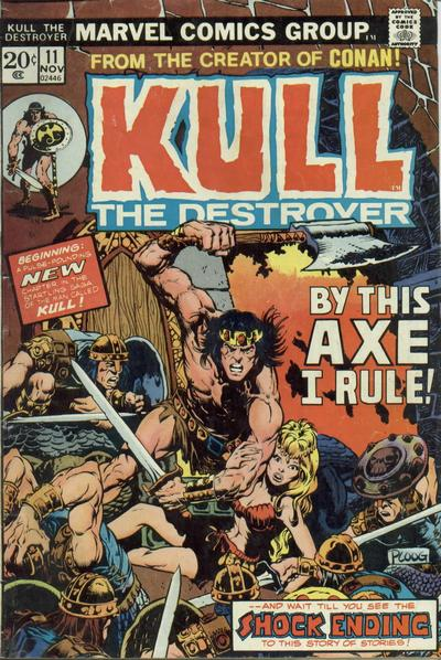 Cover for Kull the Destroyer (1973 series) #11