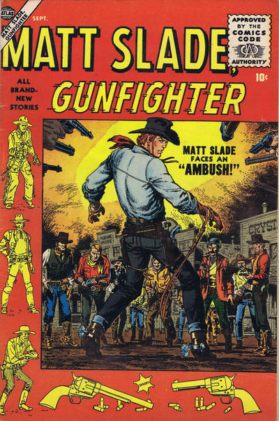 Cover for Matt Slade, Gunfighter (Marvel, 1956 series) #3