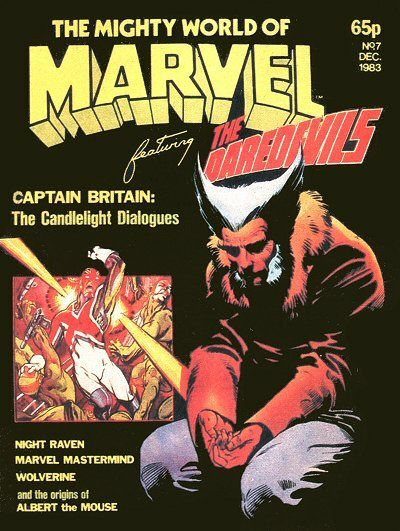 Cover for The Mighty World of Marvel (Marvel UK, 1982 series) #7