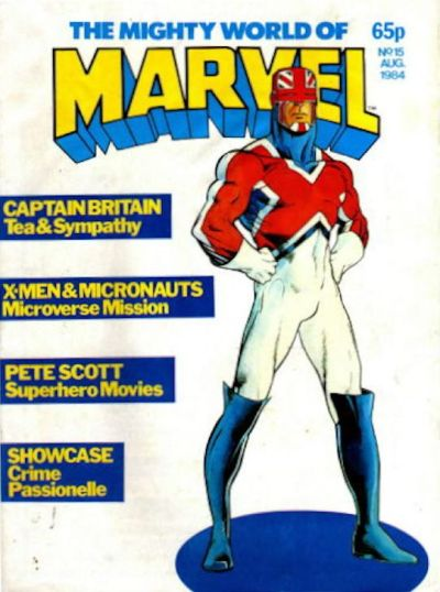 Cover for The Mighty World of Marvel (1982 series) #15