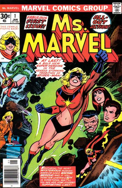 Cover for Ms. Marvel (Marvel, 1977 series) #1