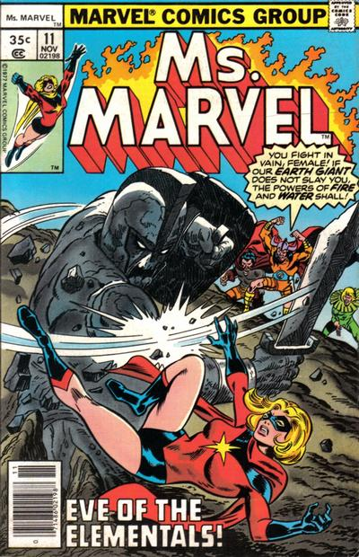 Cover for Ms. Marvel (Marvel, 1977 series) #11