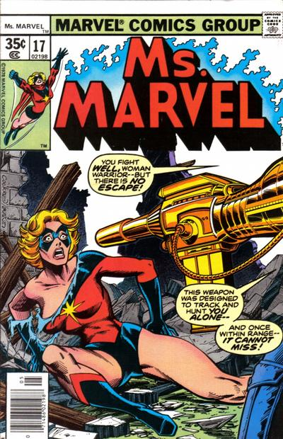 Cover for Ms. Marvel (1977 series) #17