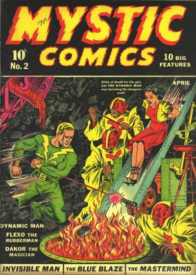 Cover for Mystic Comics (1940 series) #2