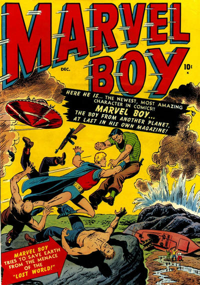 Cover for Marvel Boy (Marvel, 1950 series) #1