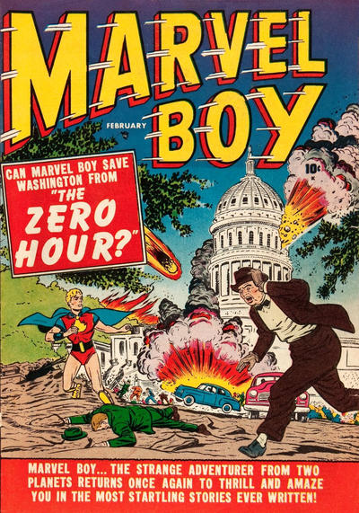 Cover for Marvel Boy (1950 series) #2