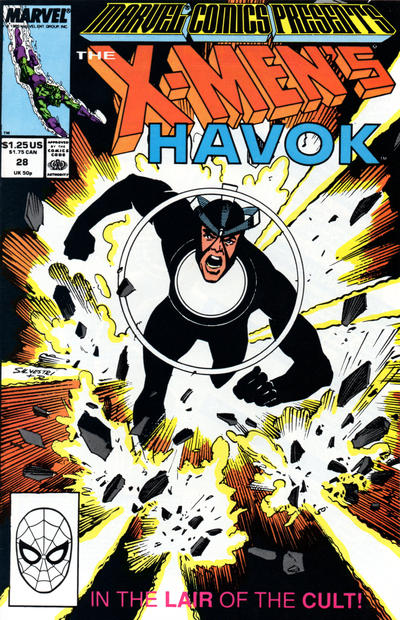 Cover for Marvel Comics Presents (Marvel, 1988 series) #28