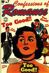 Cover for Confessions of Romance (Star Publications, 1953 series) #7